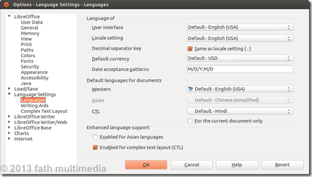 Options - Language Settings - Languages_019