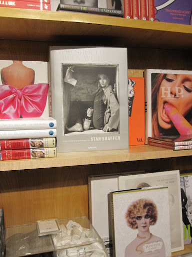 Fashion and art are two other themed sections of the store.