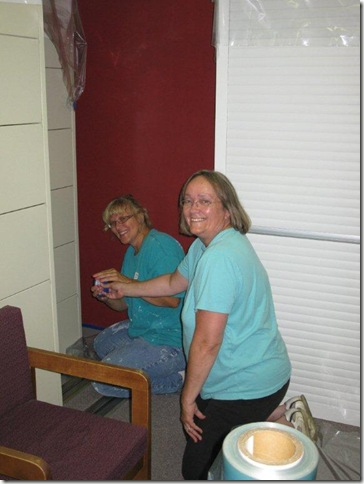 Painting Pregnancy Crisis Center