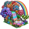 iris rainbow pond buildable