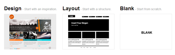 webydo website options