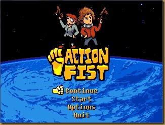 Action Fist! タイトル