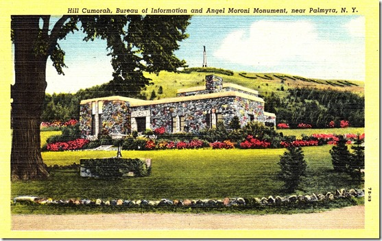 Hill Cumorah and Angel Moroni Monument Postcard pg. 1