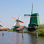 Windmills Zaanse Schans, © Johan Elzenga | Dreamstime.com
