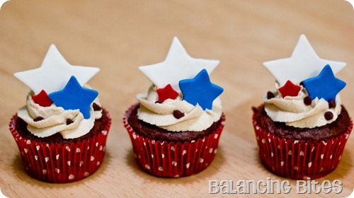 4th July Cupcakes C