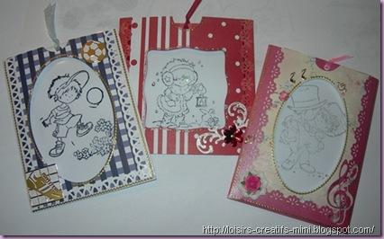 carterie créative, tampons, carte magique