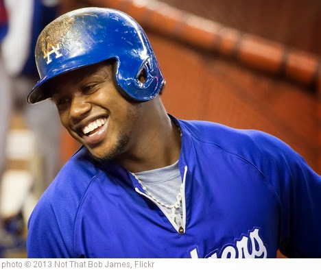 'Hanley Ramirez & his winning smile.' photo (c) 2013, Not That Bob James - license: https://creativecommons.org/licenses/by-nd/2.0/