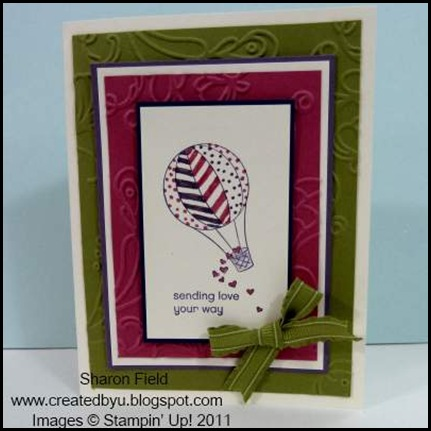 UDI50, Color_Challenges, Divas, Ain't_Love_Grand, IN_colors, Ruffled_Ribbon, splitcoast_Stampers, Inkspirations4_U, tutorials, newsletter, Sharon_Field, Createdbyu_Blogspot, hot_air_balloon, lucky_limeade