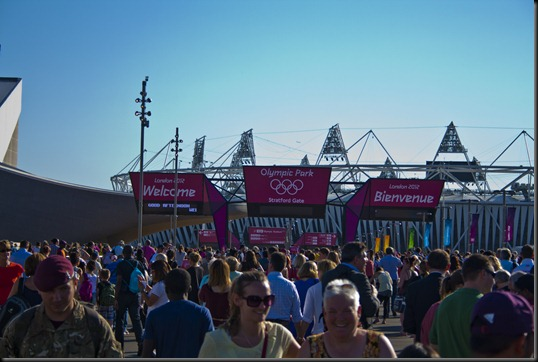 Stratford Gate to the Olympic Park