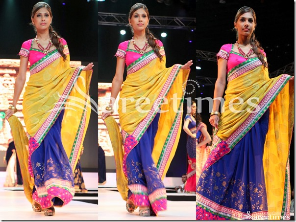Yellow_Blue_Half_and_Half_Saree