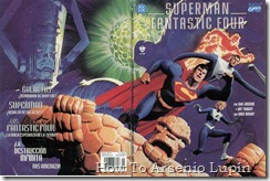 P00009 - Marvel vs DC - Superman &amp; Fantastic Four.howtoarsenio.blogspot.com