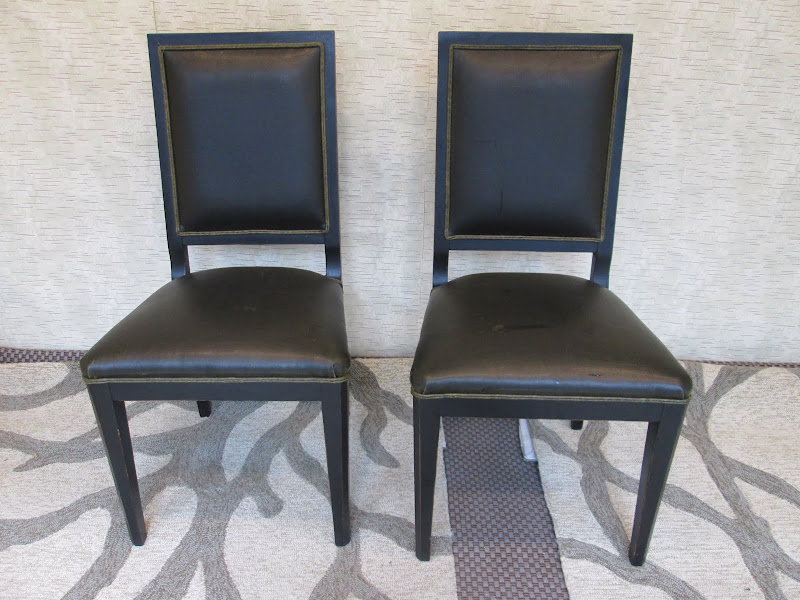 Italian Side Chair Pair
