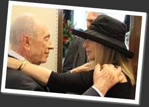 Shimon.Peres.Barbra.Streisand