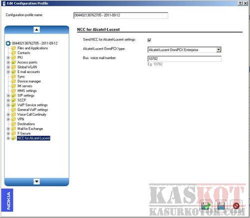 Mengatur Settingan Ponsel Symbian Nokia – Nokia Configuration Tool