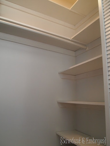 closet shelf building plans