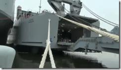 Pela primeira vez destroem-se armas químicas no mar. Jan.2014