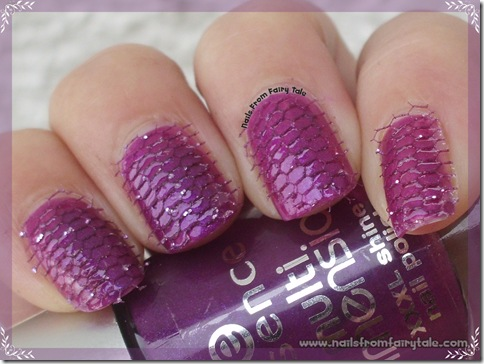 net lace on nails