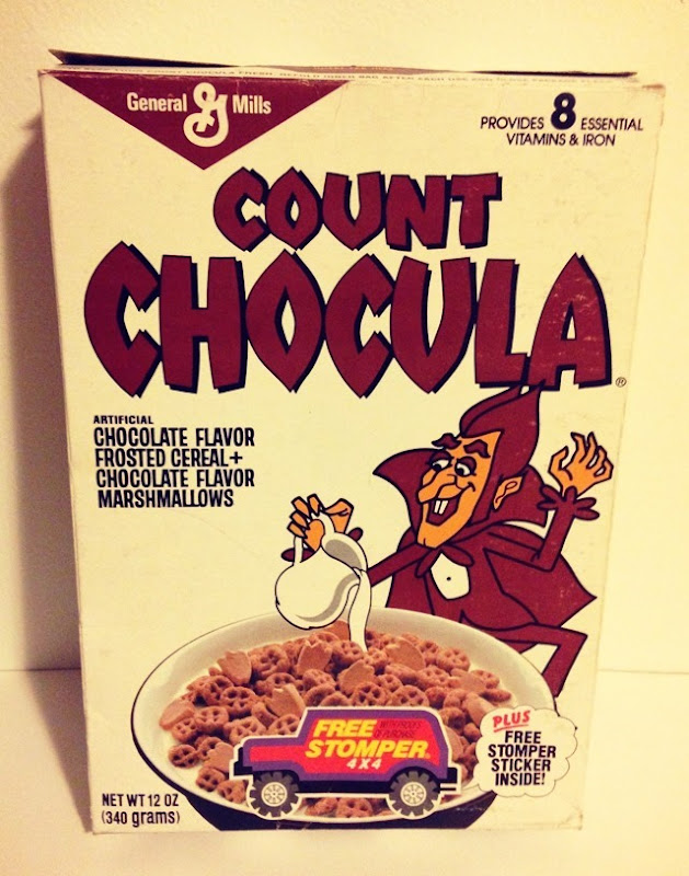 Count Chocula Cereal Front