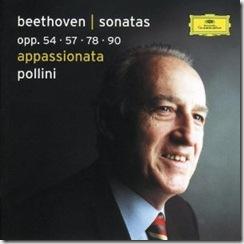 Beethoven sonatas piano Pollini