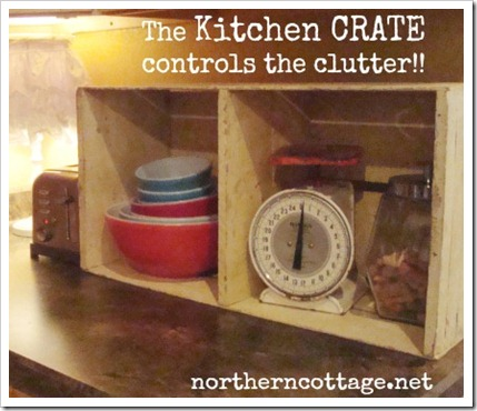 the kitchen crate @northern cottage