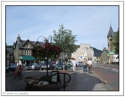 Aberfeldy town square