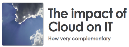Impact of Cloud on IT