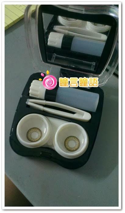 韓國GEO隱形眼鏡-自然金咖13