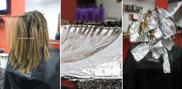 ombre hair com tranças