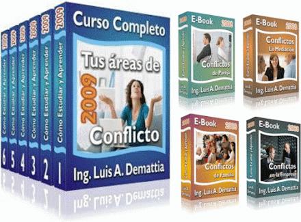 TUS ÁREAS DE CONFLICTO, Ing. Luis Demattia [ Curso ] – Cómo detectar, analizar y resolver conflictos, eliminando las trabas mentales