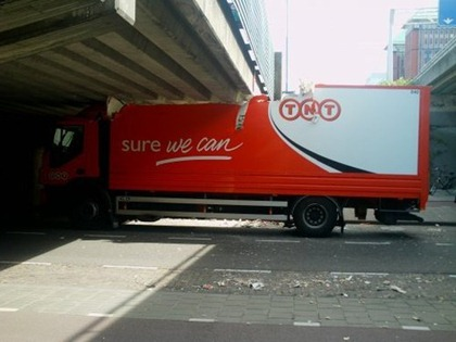 TNT Truck Fail