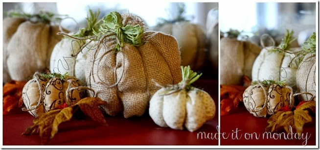 Super Simple Fabric Pumpkins Tutorial