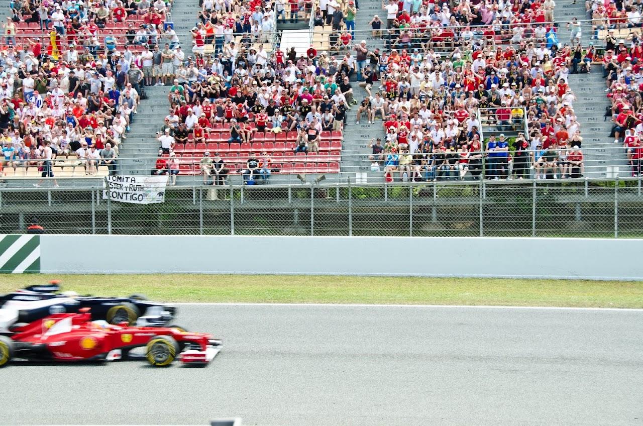 F1 race  Barcelona