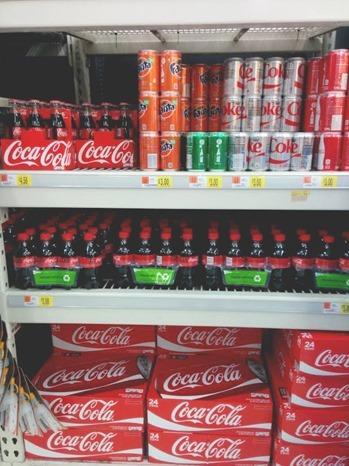 coke bottle reindeer #RealMagic #Ad #Cbias