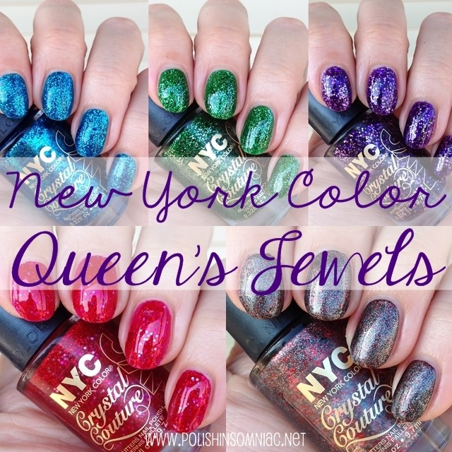 New York Color Queen's Jewels Crystal Couture Topcoats