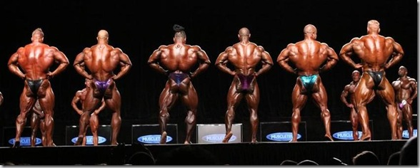 MR OLYMPIA 2011 COMPARISONS