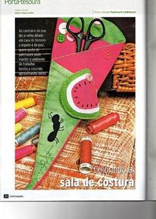 Watermelon Scissor case