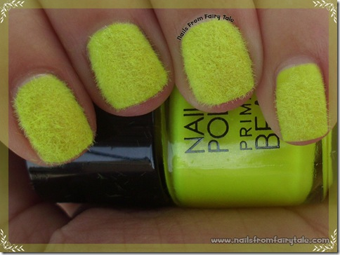 neon yellow flocking powder 4