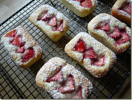 strawberry and lemon friands2