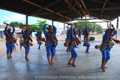 cangaceiros dançando xaxado em serra talhada