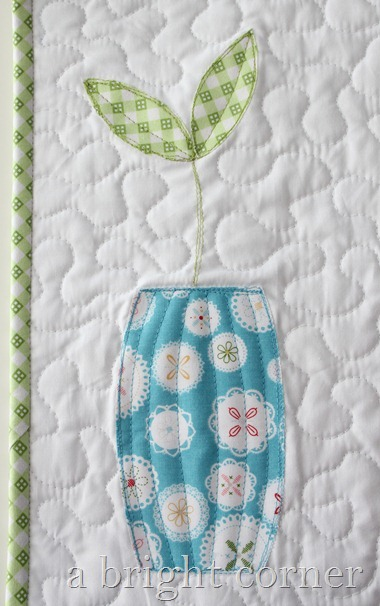Sprouts table runner (pattern)