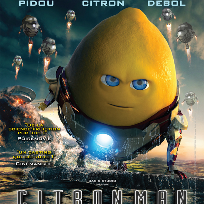 Citron Man, la version agrume dIron Man 3
