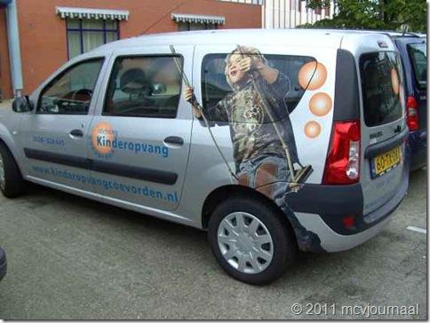 Dacia Logan MCV Kinderopvang Coevorden