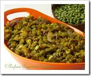 Peas stir fry