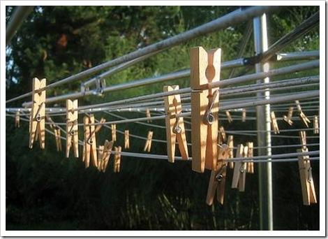 4 clothes line