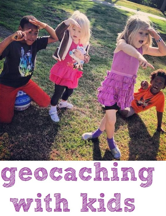 geocaching with kids: this post explains why geocaching is a great bonding experience for families (it's free, it's fun for all ages, and it gets kids active and into nature.)