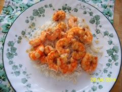 Sweet and Soour Shrimp