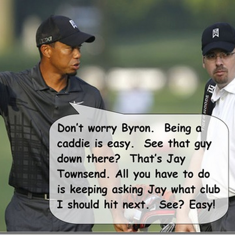 What Tiger Said to Byron Bell about Jay