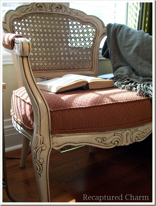 louis cane back chairs 079a