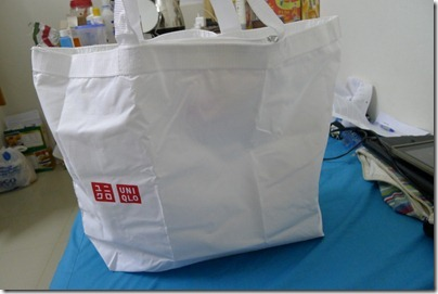 eco bag @ Uniqlo