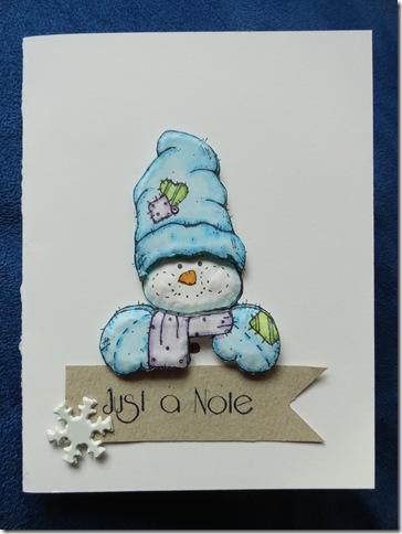 Tole Snowman
